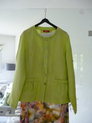 Blouse Jacket meadow green linen