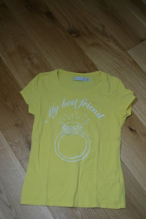 Sommerlich gelbes ZARA Collection TShirt in Gr.M/L