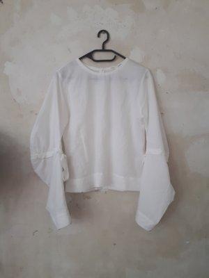 COS Linnen blouse wit