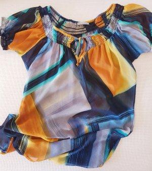 Sommerliche Bluse im bunten Design