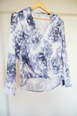 Sommerliche Bluse in schönen grau-tönen