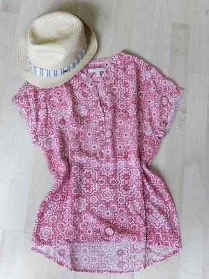 Sommerliche Bluse mit angesagtem Retro-Muster