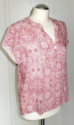 Sommerliche Bluse mit angesagtem Retro-Muster - Neuwertig!