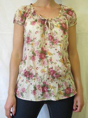 Sommerliche Bluse mit Blumenmuster von Esprit