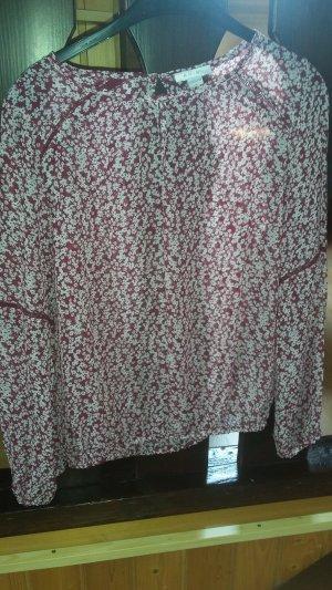 Amisu Blouse transparente multicolore polyester