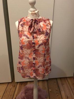 Sommerliche Bluse mit Schmetterlingprint
