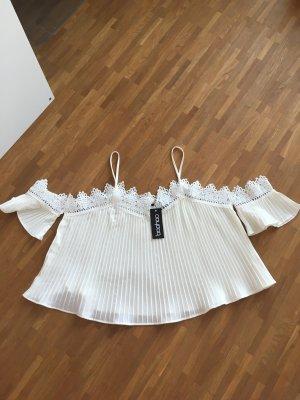 Sommerliche Bluse mit Spitzendetail