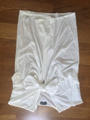 Armani Jeans Blouse sans manche blanc cassé coton