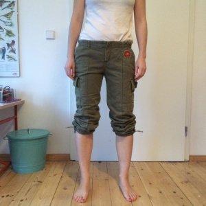 Sommerliche Cargo-Hose im Army-Style von Zara Gr. 40