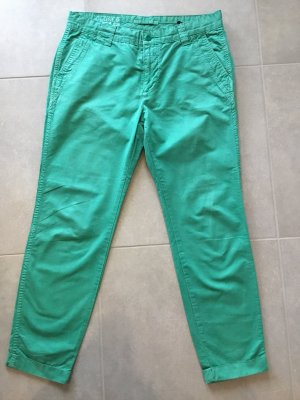 Closed Chinos turquoise cotton