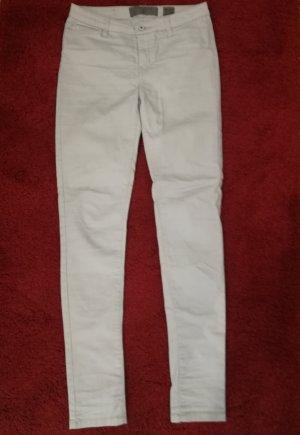 Vero Moda Hoge taille jeans lichtgrijs