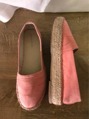 Deichmann Espadrille Sandals apricot-salmon