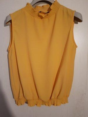 Costes Sleeveless Blouse yellow