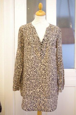 H&M Zijden blouse zwart-room Katoen