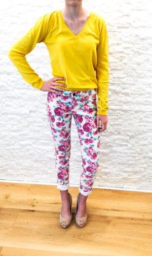 Sommerliche Hose mit Blumenprint, Gr.34