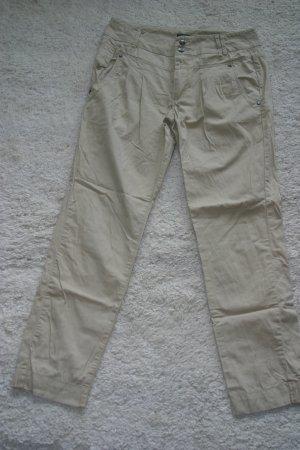 Sommerliche leichte Chino-Hosen von ONLY in beige, Gr. 36