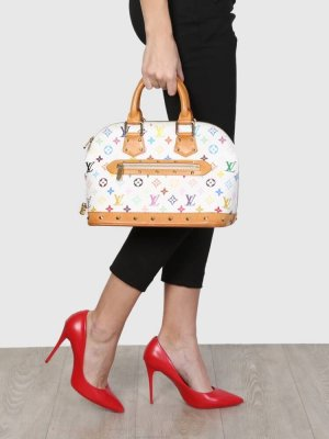 Sommerliche Louis Vuitton Alma Tasche