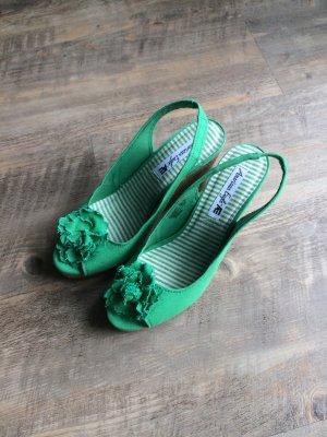 Sommerliche Peep Toe Schuhe - NEU