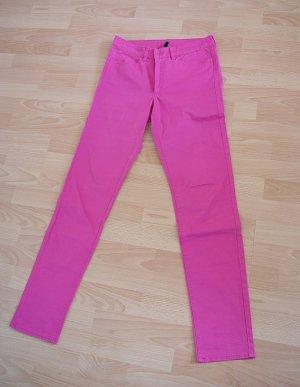 sommerliche pinke Jeans H&M
