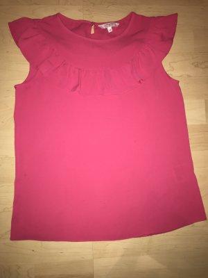 Sommerliche, pinkfarbene Bluse