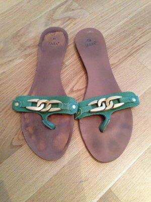 Sommerliche Sandalen, Gr. 41