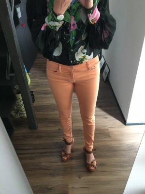 Sommerliche Skinny von 7 for all Mankind in Apricot
