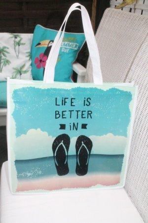 sommerliche Tasche * Strandtasche * Shopper * NEU *