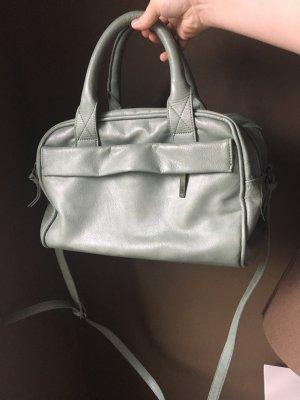 Sommerliche Tasche von Zara mint grau Hochzeit Sommer graugrün