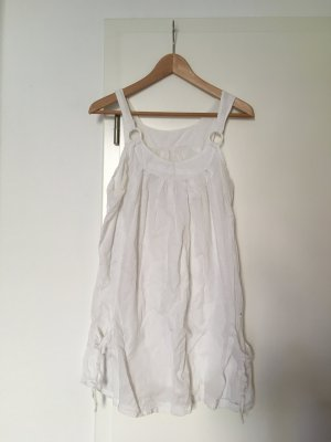Tunic Dress white cotton