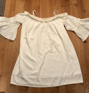 Tunic Dress natural white cotton
