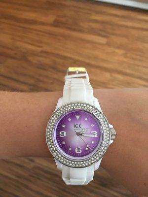 Ice watch Horloge wit-lila