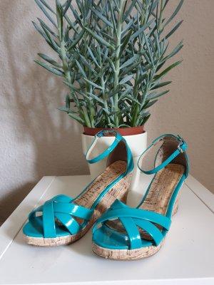 Sommerliche Wedges Sandalette