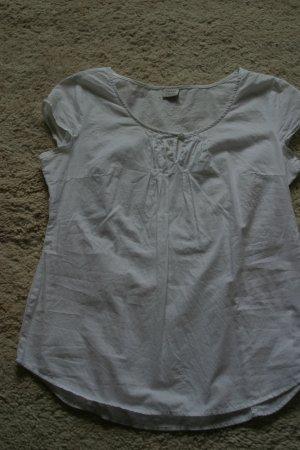 Sommerliche weiße ESPRIT Bluse ohne Ärmel in Gr. 36