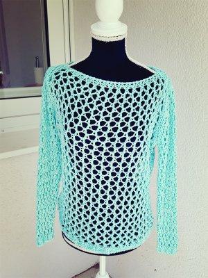 Sweater turkoois