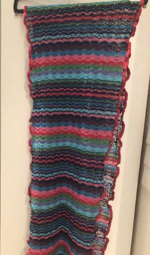 Crochet Scarf multicolored