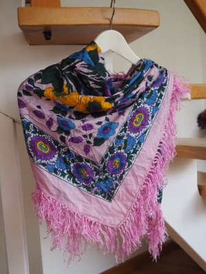 Erfurt Fringed Scarf multicolored