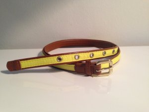 H&M Belt cognac-coloured-primrose