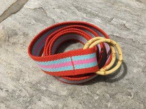 Fabric Belt multicolored