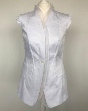 Elégance Tailleur pantalone bianco Cotone