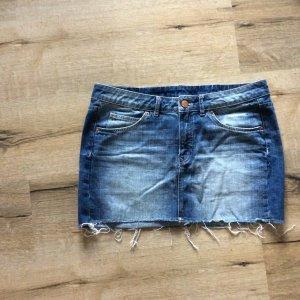 Sommerlicher Jeans Minirock