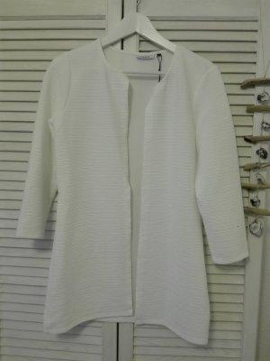 Sommerlicher leichter weißer Mantel / Cardigan von Only, Neu & Ungetragen
