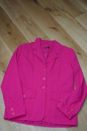 Sommerlicher pinkfarbener Blazer in Gr. 40