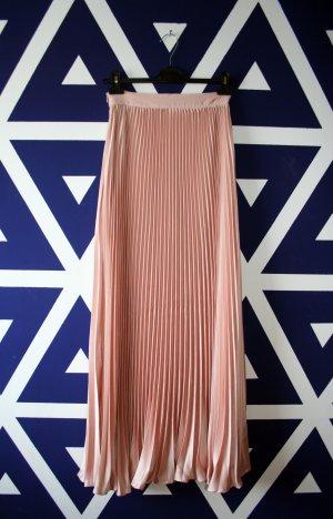 Sommerlicher Plissee Maxi-Skirt