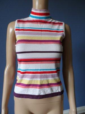 Sommerlicher Pullover mit Rollkragen