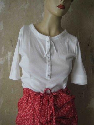 sommerlicher Pyjama von Hunkemöller, in rot und weiß - sleepwear look