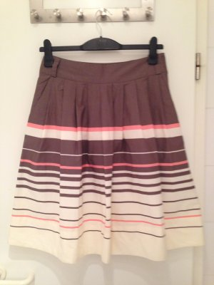 H&M Circle Skirt multicolored cotton