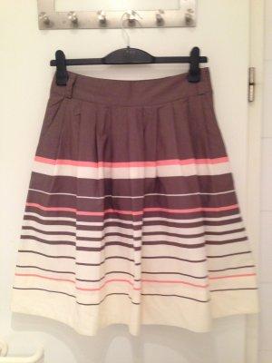 H&M Circle Skirt multicolored cotton
