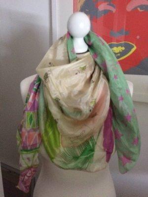 Sommerlicher Schal von Codello, reine Seide