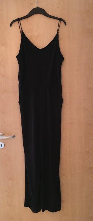 sommerlicher schwarzer Jumpsuit