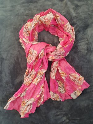 Hallhuber Bufanda rosa-rosa